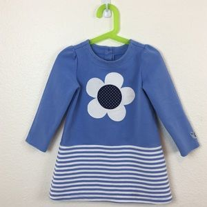 Cute Gymboree Girls 4T blue , daisy & Stripes